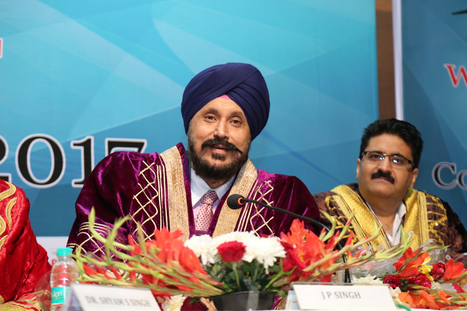 ISD Council Director J P Singh at Marwah Studio during convocation 2017