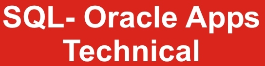 SQL Oracle App Technical