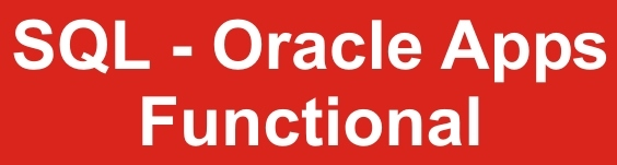 SQl oracle app functional