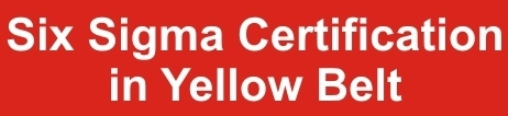Six Sigma Certification in yellow belt