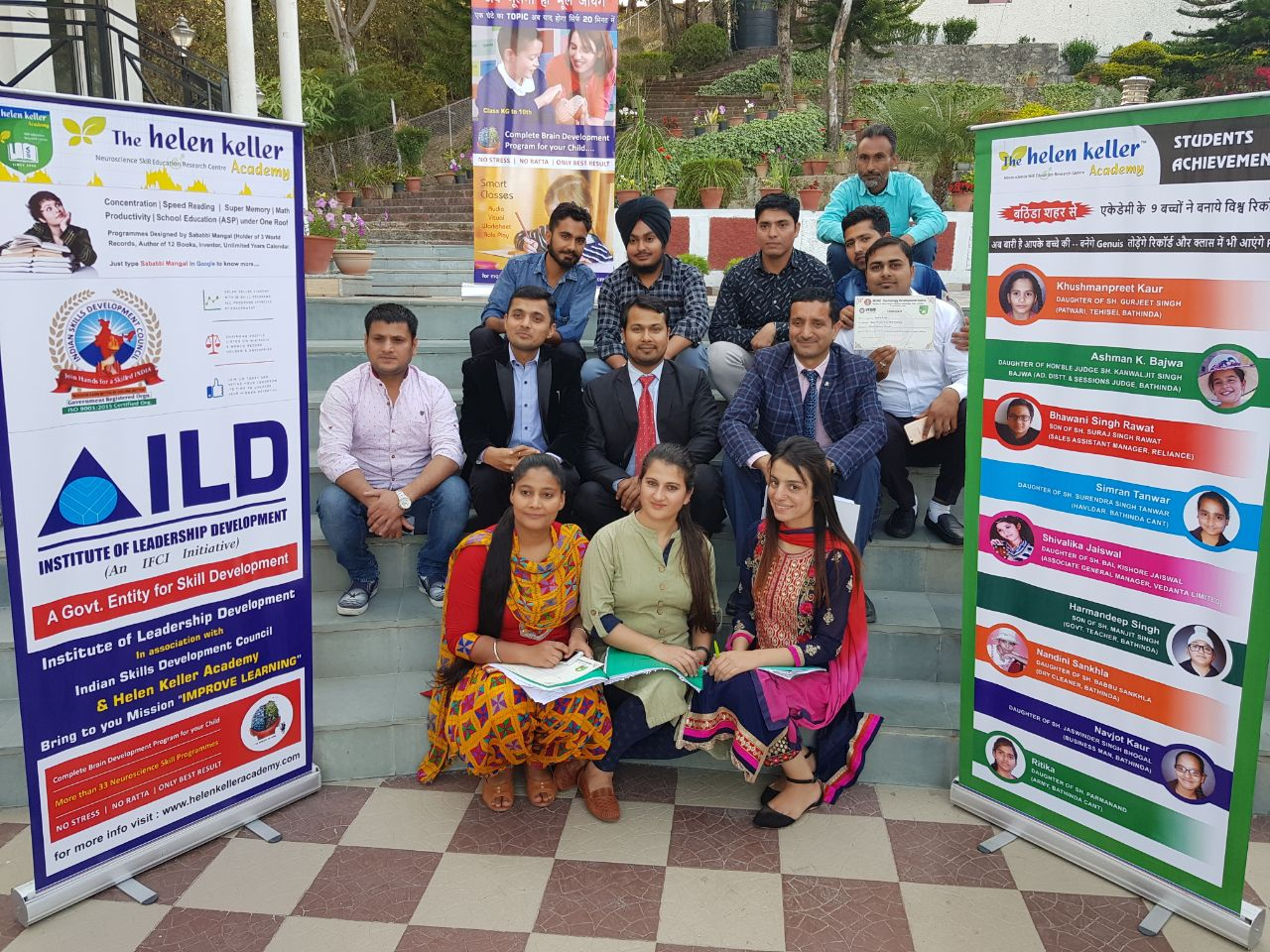 Indian Skills Development Council Improve Memory Learning training at Shimla